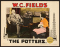 """Movie Posters:Comedy, The Potters (Paramount, 1927). Lobby Card (11"""" X 14"""").. ..."""