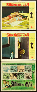 "Movie Posters:Science Fiction, The Incredible Shrinking Man (Universal International, 1957). TitleLobby Card and Lobby Cards (2) (11"" X 14"").. ... (Total: 3 Items)"