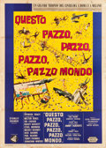 "Movie Posters:Comedy, It's a Mad, Mad, Mad, Mad World (United Artists, 1963). Italian 4 -Foglio (55"" X 78"").. ..."