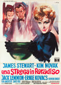 """Movie Posters:Romance, Bell, Book and Candle (Columbia, 1959). Italian 4 - Foglio (55"""" X 78"""").. ..."""