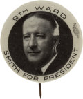Political:Pinback Buttons (1896-present), Al Smith: Super Rare Picture Pin....