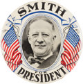 Political:Pinback Buttons (1896-present), Al Smith: Exceptional Portrait Button....