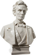 Political:3D & Other Display (pre-1896), Abraham Lincoln: Max Bachmann Lifesize Bust....