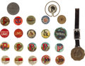 Advertising:Small Novelties, Ammo Advertising Pins: Lot of Twenty-Three, Including Dead Shot,Peters Infallible, UMC, Du Pont, Hunter Arms and Western....(Total: 23 Items)