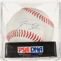 Miscellaneous Collectibles:General, Muhammad Ali and Michael Jordan Multi Signed Baseball....