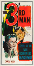 "Movie Posters:Film Noir, The Third Man (Selznick, 1949). Three Sheet (41"" X 80"").. ..."