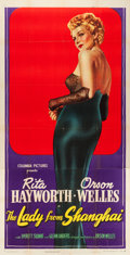 """Movie Posters:Film Noir, The Lady from Shanghai (Columbia, 1947). Three Sheet (41"""" X 80"""").. ..."""