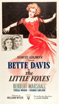 "Movie Posters:Drama, The Little Foxes (RKO, 1941). Three Sheet (41"" X 79"").. ..."
