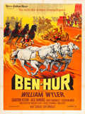"Movie Posters:Academy Award Winners, Ben-Hur (MGM, 1959). French Grande (47"" X 62"").. ..."