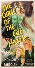 """Movie Posters:Horror, The Curse of the Cat People (RKO, 1944). Three Sheet (41"""" X 79.5"""").. ..."""