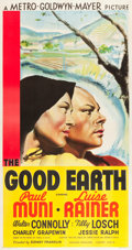 "Movie Posters:Drama, The Good Earth (MGM, 1937). Three Sheet (41.5"" X 79.5"") Style B.. ..."