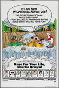 "Movie Posters:Animation, Race for Your Life, Charlie Brown (Paramount, 1977). One Sheet (27""X 41"") Flat Folded. Animation.. ..."