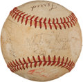 Baseball Collectibles:Bats, Nestor Chylak Multi Signed Baseball. ...