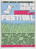 Music Memorabilia:Posters, Palm Beach Music and Art Festival Poster and Photo Group (1969)....(Total: 3 Items)