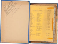 """A Continuity Script from """"Batman and Robin"""" (1949)"""