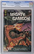 Silver Age (1956-1969):Superhero, Mighty Samson #16 File Copy (Gold Key, 1968) CGC NM/MT 9.8 Off-white to white pages. Painted cover. Jack Sparling art. Overs...