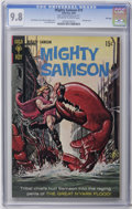 Silver Age (1956-1969):Superhero, Mighty Samson #19 File Copy (Gold Key, 1969) CGC NM/MT 9.8 Off-white to white pages. Painted cover. Jack Sparling art. Overs...