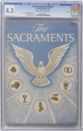 Golden Age (1938-1955):Religious, The Sacraments #30304 File Copy (Catechetical Guild, 1955) CGC VG+4.5 Cream to off-white pages. Addison Burbank art. Hard t...