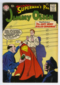Silver Age (1956-1969):Superhero, Superman's Pal Jimmy Olsen #28 (DC, 1958) Condition: FN. Curt Swan cover and art. Overstreet 2006 FN 6.0 value = $51....