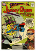 Silver Age (1956-1969):Superhero, Superman's Pal Jimmy Olsen #29 (DC, 1958) Condition: FN+. First appearance of Krypto with Superman. Curt Swan cover and art....