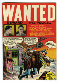 Wanted Comics #11 Mile High pedigree (Toytown, 1948) Condition: NM. Overstreet 2006 NM- 9.2 value = $150. From the Colle...