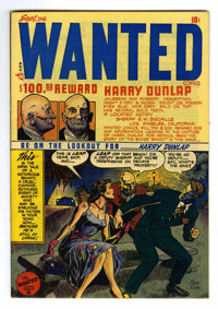 Wanted Comics #15 Mile High pedigree (Toytown, 1948) Condition: NM. Overstreet 2006 NM- 9.2 value = $105. From the Colle...