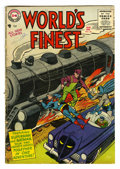 Silver Age (1956-1969):Superhero, World's Finest Comics #80 (DC, 1956) Condition: GD/VG. Win Mortimer cover. Dick Sprang, George Papp, and Fred Ray art. Overs...