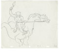 "Animation Art:Production Drawing, ""Wizards"" Animation Drawing Original Art (Ralph Bakshi Productions,1977). Deep within the radioactive wastelands, the evil ..."