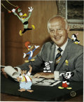 "Animation Art:Limited Edition Cel, ""Meet My Boss, Walter Lantz"" Limited Edition Hand-Painted Cel#12/200 Original Art (Walter Lantz Productions, 1991). This li..."