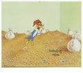 """Animation Art:Limited Edition Cel, """"Moneybags Woody"""" Hand Painted Cel #62/200 Original Art (Walter Lantz Productions, 1991). Woody finds gold at the end of the... (Total: 2 Items)"""