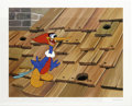 "Animation Art:Limited Edition Cel, ""Rooftop Woody Woodpecker"" Hand Painted Cel #192/200 Original Art(Walter Lantz Productions, 1991). The pesky woodpecker, Wo...(Total: 2 Items)"