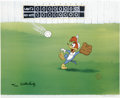 "Animation Art:Limited Edition Cel, ""Fly Ball"" Limited Edition Hand Painted Cel #185/200 Original Art(Walter Lantz Productions, 1992). This hand painted limite...(Total: 2 Items)"