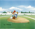"Animation Art:Limited Edition Cel, ""Wind Up"" Limited Edition Hand Painted Cel #134/200 Original Art (Walter Lantz Productions, 1992). This hand painted limited... (Total: 2 Items)"