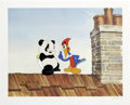 "Animation Art:Limited Edition Cel, ""Woody Woodpecker Scolds Andy Panda"" Hand Painted Cel #88/200Original Art (Walter Lantz Productions). Andy Panda tries the ...(Total: 2 Items)"