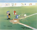 "Animation Art:Limited Edition Cel, ""Woody Gets a Hit"" International Limited Edition Hand Painted Cel#7/25 Original Art (Walter Lantz Productions, 1992). This ...(Total: 3 Items)"