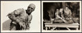 """Movie Posters:Horror, The Mummy's Hand (Universal, 1940). Photos (2) (8"""" X 10"""").. ... (Total: 2 Items)"""