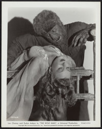"""The Wolf Man (Universal, 1941). Photos (4) (8"""" X 10""""). ... (Total: 4 Items)"""