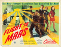 "Movie Posters:Science Fiction, Flight to Mars (Monogram, 1951). Half Sheet (22"" X 28""). Fromthe collection of Wade Williams.. ..."