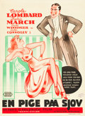"Movie Posters:Comedy, Nothing Sacred (United Artists, 1937). Danish One Sheet (24.25"" X34.5""). Comedy.. ..."