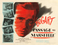 "Movie Posters:War, Passage to Marseille (Warner Brothers, 1944). Half Sheet (22"" X28"") Style A.. ..."