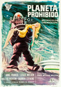 "Movie Posters:Science Fiction, Forbidden Planet (Cire,1966). Spanish One Sheet (27.5"" X 39.25"")....."