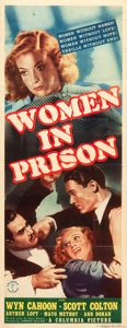 "Movie Posters:Exploitation, Women in Prison (Columbia, 1937). Insert (14"" X 36"").. ..."