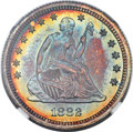 Proof Seated Quarters, 1882 25C PR67+ ★ NGC. CAC....