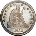 Proof Seated Quarters, 1886 25C PR66 PCGS....