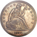 Seated Dollars, 1844 $1 MS61 NGC....