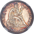Seated Dimes, 1874 10C Arrows MS66 NGC....