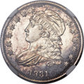 Proof Bust Dimes, 1831 10C PR65 Cameo NGC. JR-2, R.7 as a proof....