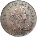 Early Dollars, 1798 $1 Large Eagle, Pointed 9, Four Berries XF45 PCGS. B-8,BB-125, R.2....