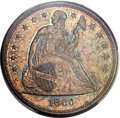 Seated Dollars, 1860-O $1 MS64 PCGS....