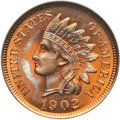 Indian Cents, 1902 1C MS67 Red NGC....